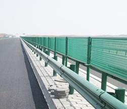 同仁公路防眩网使用案例